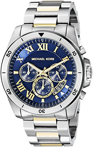 MK8280 Lexington Silver Tone Watch