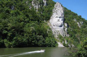 Decebalus Rock Sculpture