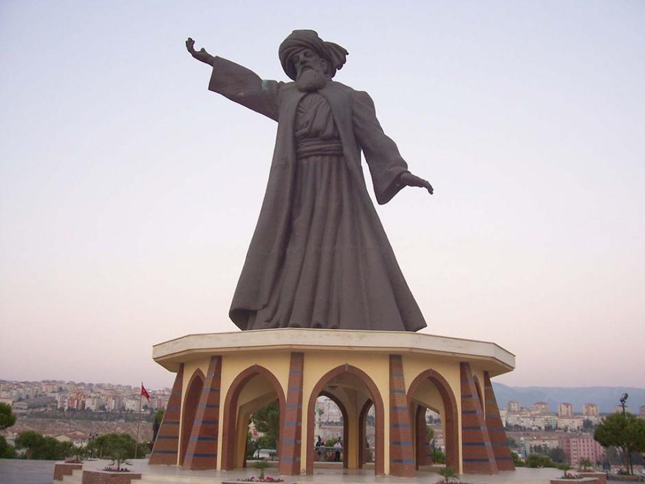 Mevlana Rumi Statue