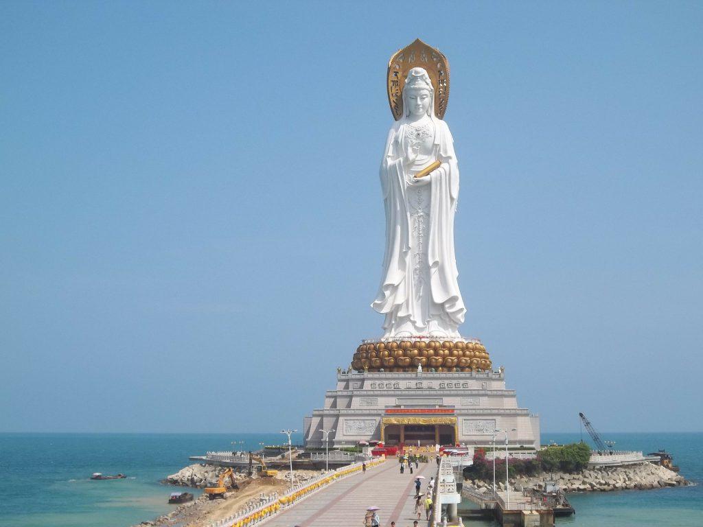 The Guan Yin Statue of China
