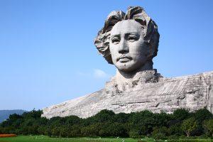 Zedong Statue-Youth Mao