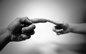 touch through communication